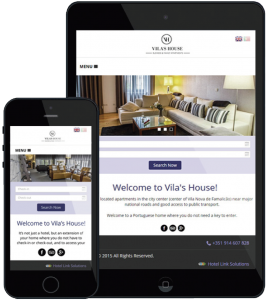Responive Design Hotel Website - Hotel Link Solutions
